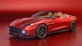 Aston Martin Vanquish Zagato Volante - tylko 99 egz.