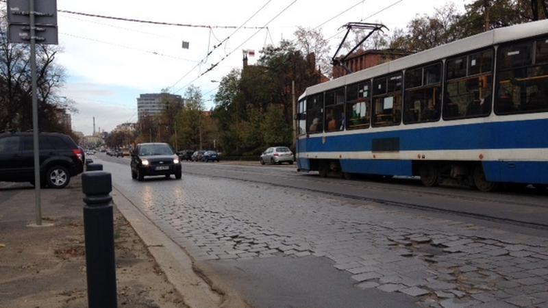 Ulica Curie-Skłodowskiej we Wrocławiu