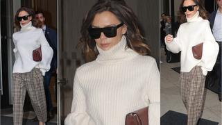 Best Look: Victoria Beckham w zestawie WB