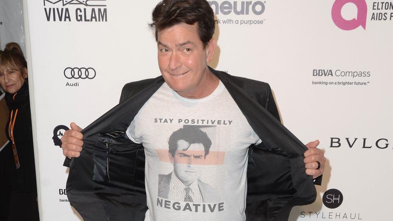 Charlie Sheen legutóbb a HIV-fertőzésével szerepelt mindenhol /Fotó: Northfoto