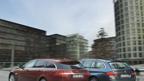 BMW 530d Touring kontra Jaguar XF Sportbrake: luksusowe kombi dla rodziny