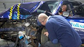 Jak rdza osłabia auto? Crashtest skorodowanego auta