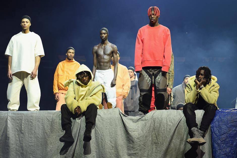 Kolekcja Kanye Westa dla Adidasa, luty 2016