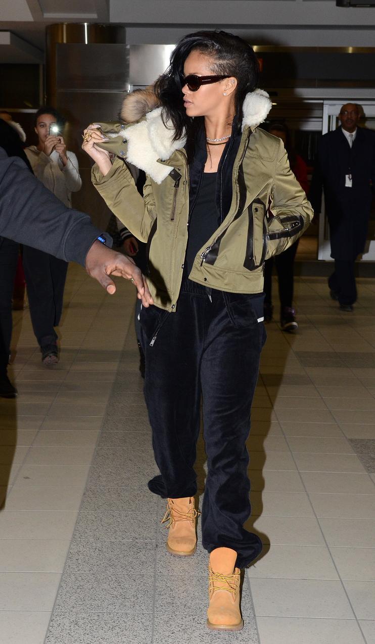 Rihanna Timberland