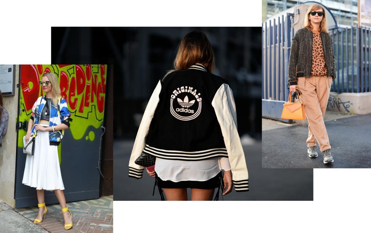 Bomberka, bomber jacket
