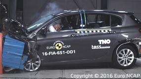 Fiat Tipo nisko oceniony przez Euro NCAP