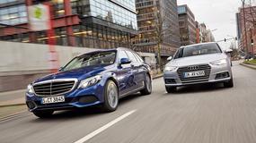 Benzynowe kombi z klasą - Audi A4 Avant 2.0 TFSI i Mercedes C 200 T