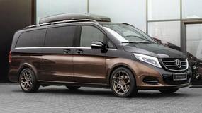 Luksus we wnętrzu vana - Mercedes V Carlex Design