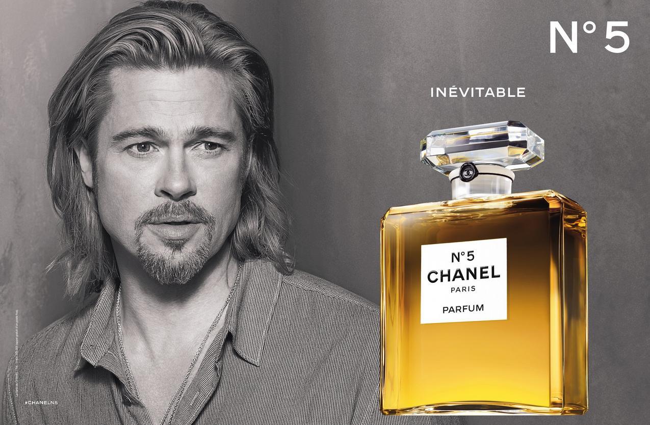 Brad Pitt - Chanel no 5