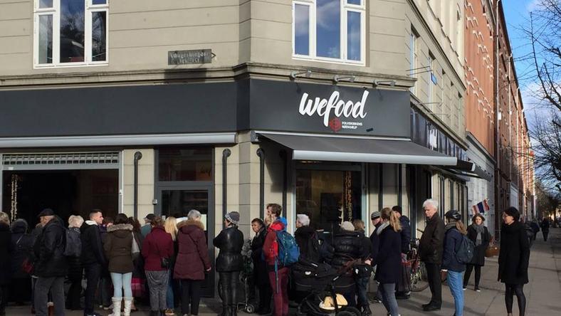 Dániában nyitott meg a bolt /Fotó: Facebook