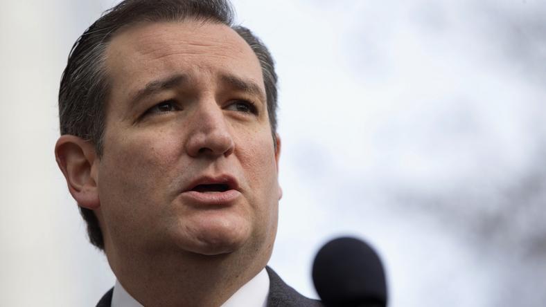 Ted Cruzról azt állítják, öt nővel csalta meg feleségét /Fotó: AP