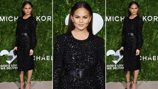 Best Look: Chrissy Teigen w sukience Michaela Korsa