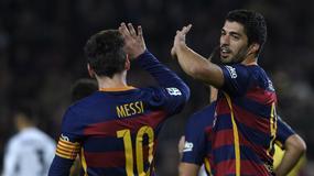 Puchar Króla: Luis Suarez i Lionel Messi rozbili Valencię