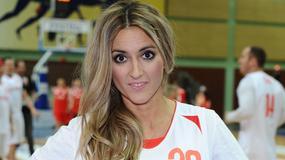 Karolina Szostak zagrała w charytatywnym meczu koszykówki