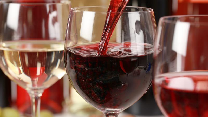 Wino chroni serce, ale tylko aktywnych