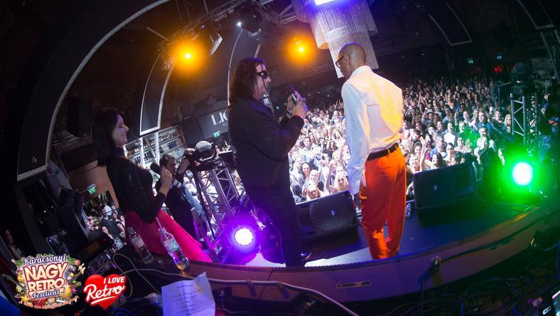 Kozso egyszercsak felment a színpadra / Fotó: Király Gábor