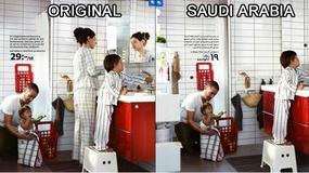 IKEA przesadziła z photoshopem... usuwając kobiety