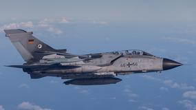 Joint Warrior 2015 - tankowanie w powietrzu niemieckich Tornado