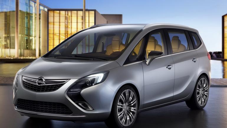 To jest nowy Opel Zafira