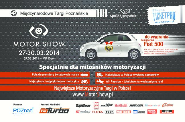 Motor Show Poznań 2014