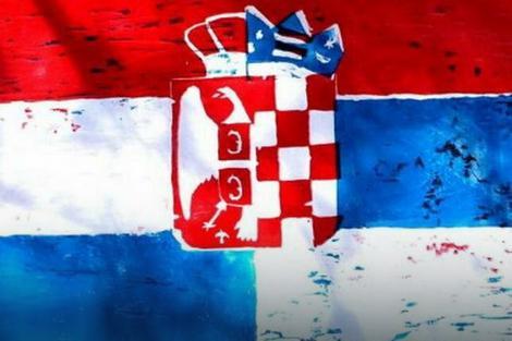 Zastava koju su umesto svojih profil fotografija stavljaju korisnici Fejsbuka iz Srbije i Hrvatske