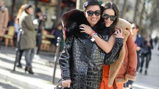 Zimowa moda uliczna