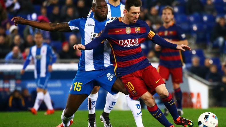 Messi az 500. góljára hajt /Fotó: AFP