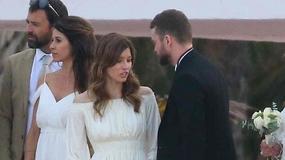 Justin Timberlake i Jessica Biel na ślubie. Jak się prezentowali?