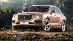 Frankfurt 2015: Bentley Bentayga - najszybszy SUV świata (301 km/h)