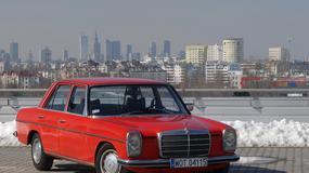 Mercedes 114/115 - rdzewiejący prestiż