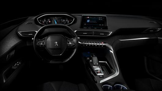 i–Cockpit – wirtualne wnętrze nowego Peugota