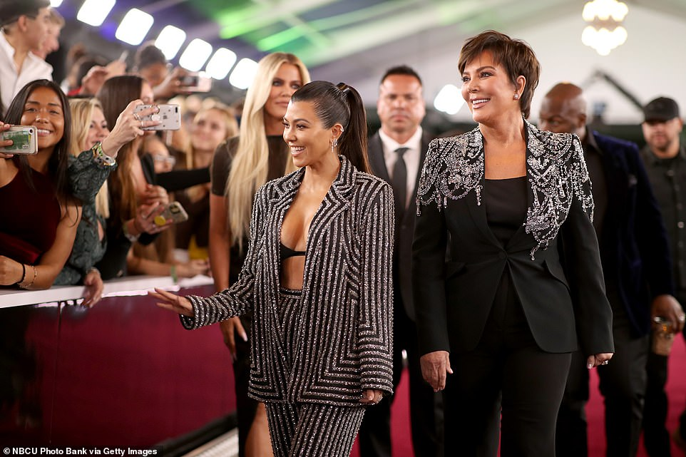 The Kardashians came through with a bang- Kourtney Kardashian [left], Kris Jenner [right] [Essence]