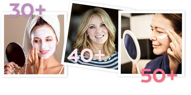 Jak dbać o skórę, gdy masz 30, 40 i 50 lat