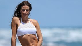 Kelly Bensimon w bikini. Ma 48 lat, a wciąż ma ciało nastolatki!