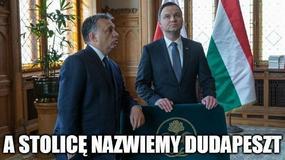 Dziś imieniny Andrzeja Dudy. Zobacz najlepsze memy z prezydentem w roli głównej