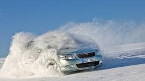 Skoda Octavia Combi oraz Superb - czyli 4x4 na szwedzkich drogach