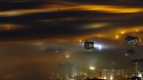 Wielkie metropolie w chmurach