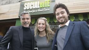 George Clooney wsparł inicjatywę dla bezdomnych z Edynburga