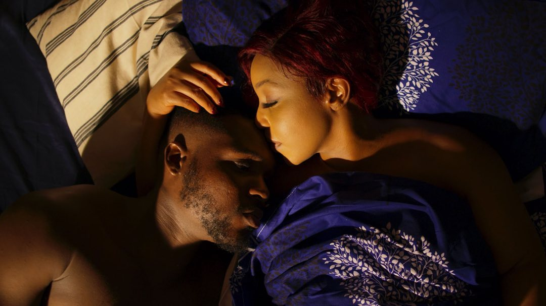 Nonso Bassey and Rita Dominic play love interests in 'La Femme Anjola' [Instagram/ @nonsobassey]