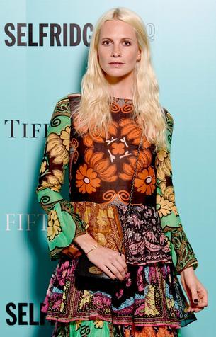 Best Look: Poppy Delevingne w hippie sukience Valentino
