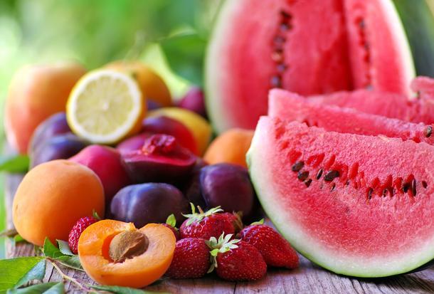 Owocowe zdrowie w stylu retro