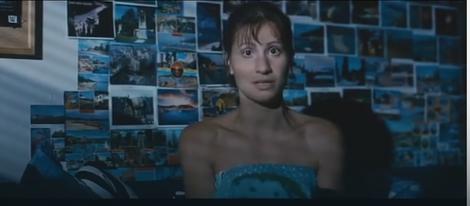 Aleksandra u filmu Stanje šoka