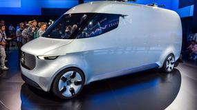 Mercedes Vision Van Concept - drony na dachu to początek