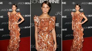Best Look: Alicia Vikander w sukience Rodarte