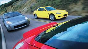 Audi TT kontra Mazda RX-8, Nissan 350Z: Fantazja wymaga kasy