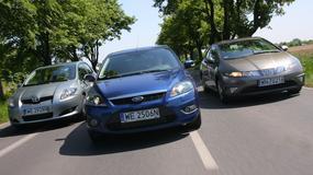 Ford Focus, Honda Civic czy Toyota Auris - który 10-letni kompakt będzie lepszym wyborem?