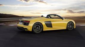 Audi R8 V10 w odmianie Spyder - wiosna w pełni