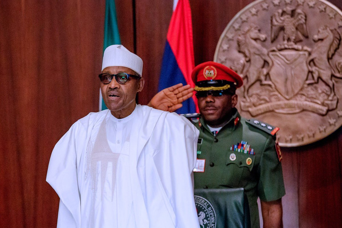 President Buhari has repeatedly frowned at hate speech in the social media space (Presidency)
