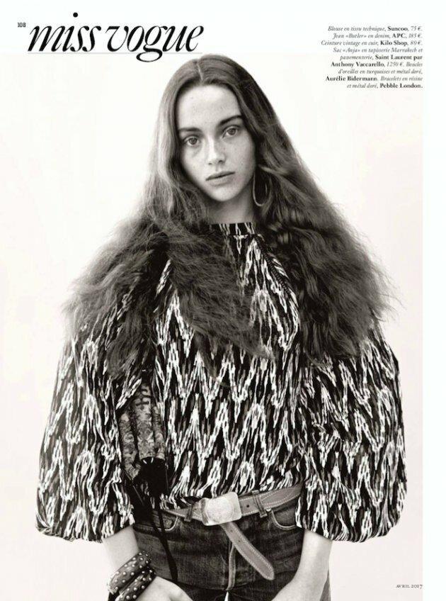 """Klimatyczna sesja """"Vogue"""" Paris"""