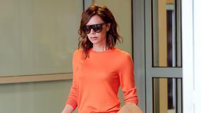Victoria Beckham w ciekawej stylizacji. Spójrzcie na połączenie kolorów!